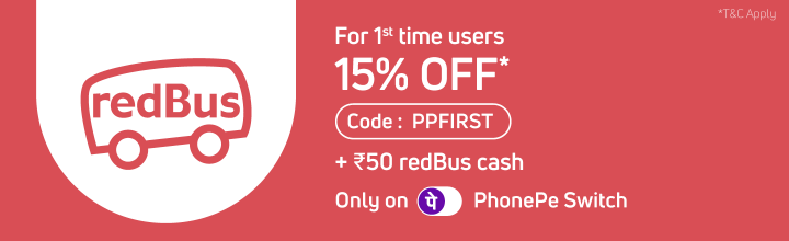 redBus booking offer