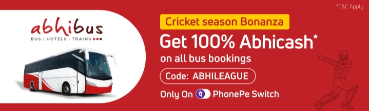 Abhicash abhileague phonepe switch AbhiBus