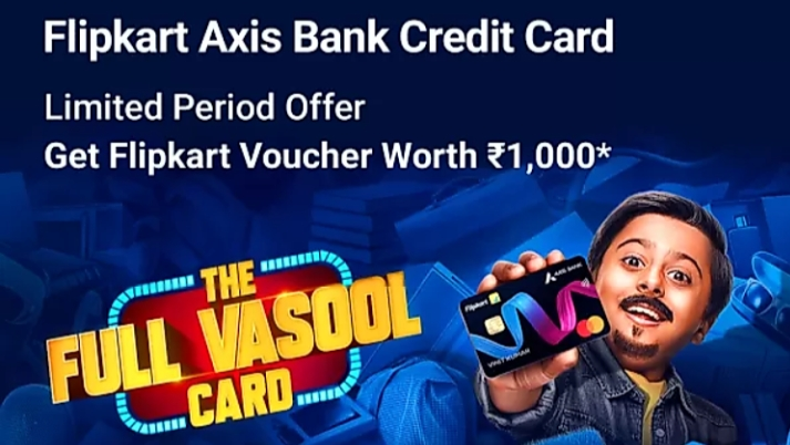 Flipkart axis bank credit card offer