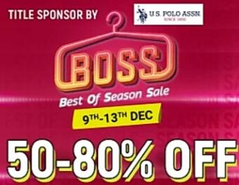 Flipkart Best of Season sale boss