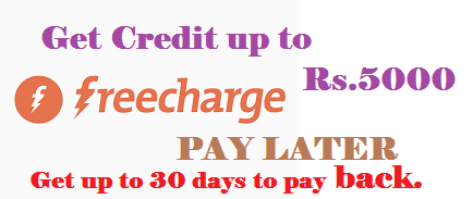 Freecharge Pay Later